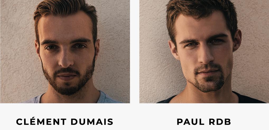 Clément Dumais et Paul RDB, membres du collectif Hit the Road